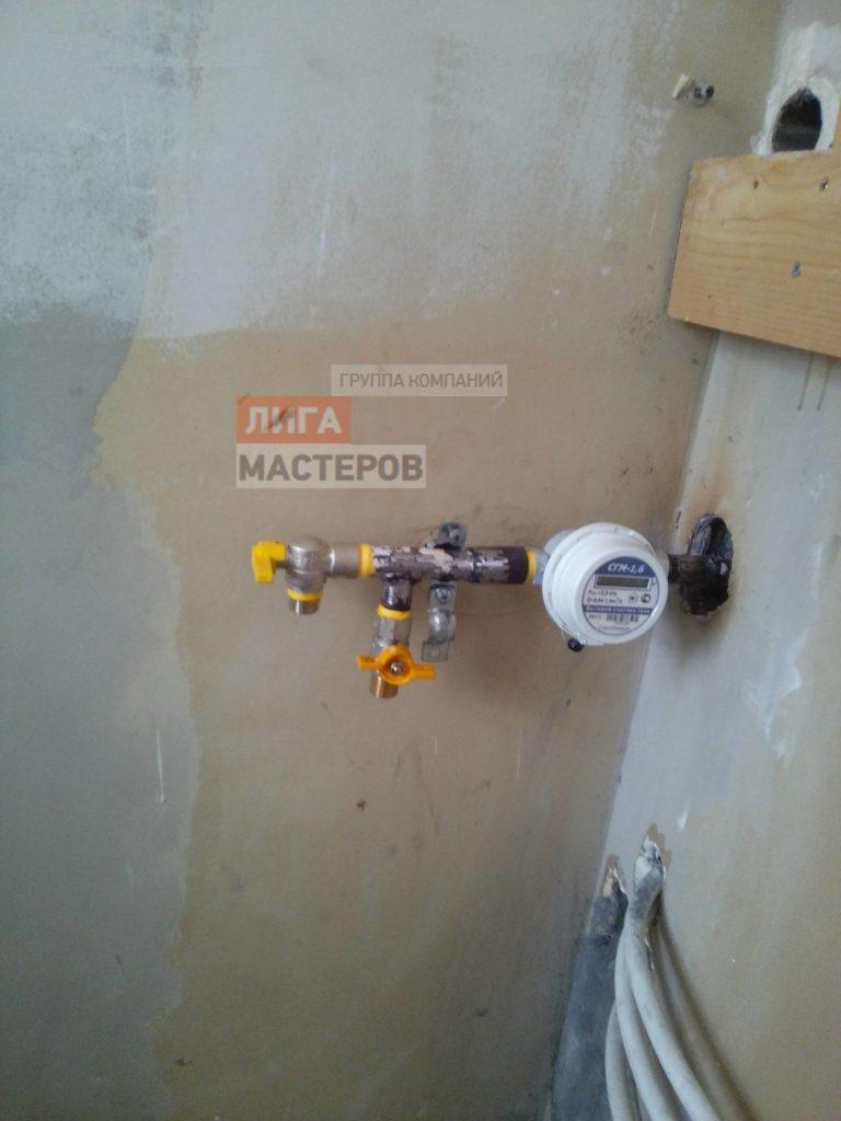 Установка газового счетчика гранд