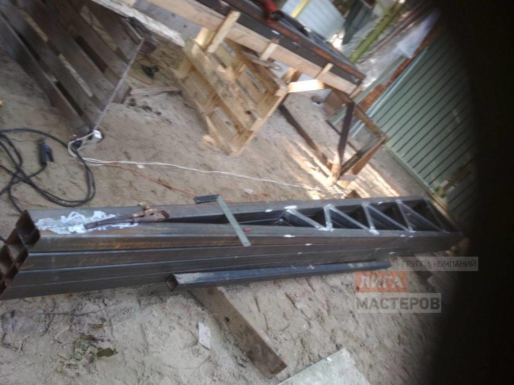 Сварка и монтаж металлоконструкций