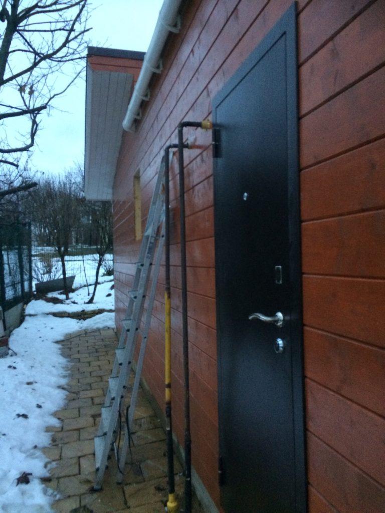 Перенос газовой трубы на участке и в частном доме