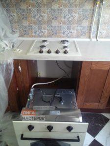 Подключение газовой варочной поверхности и духового шкафа