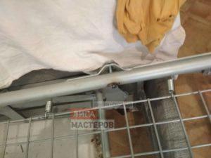 Сварочный ремонт металлического каркаса дивана