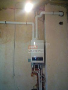 Установка и подключение газового котла