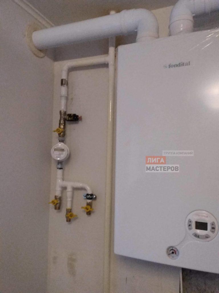Установка и подключение газового котла в квартире