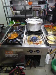 Ремонт ресторанных газовых плит