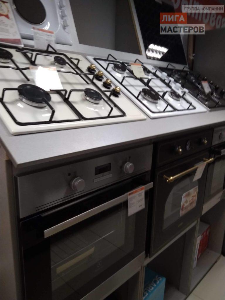 Замена газовой плиты