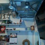 Чистка вентиляции в подсобном помещении для персонала