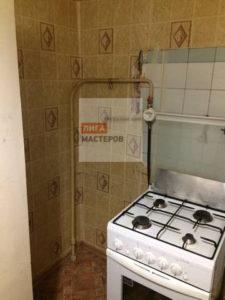 Обрезать газовую трубу на кухне