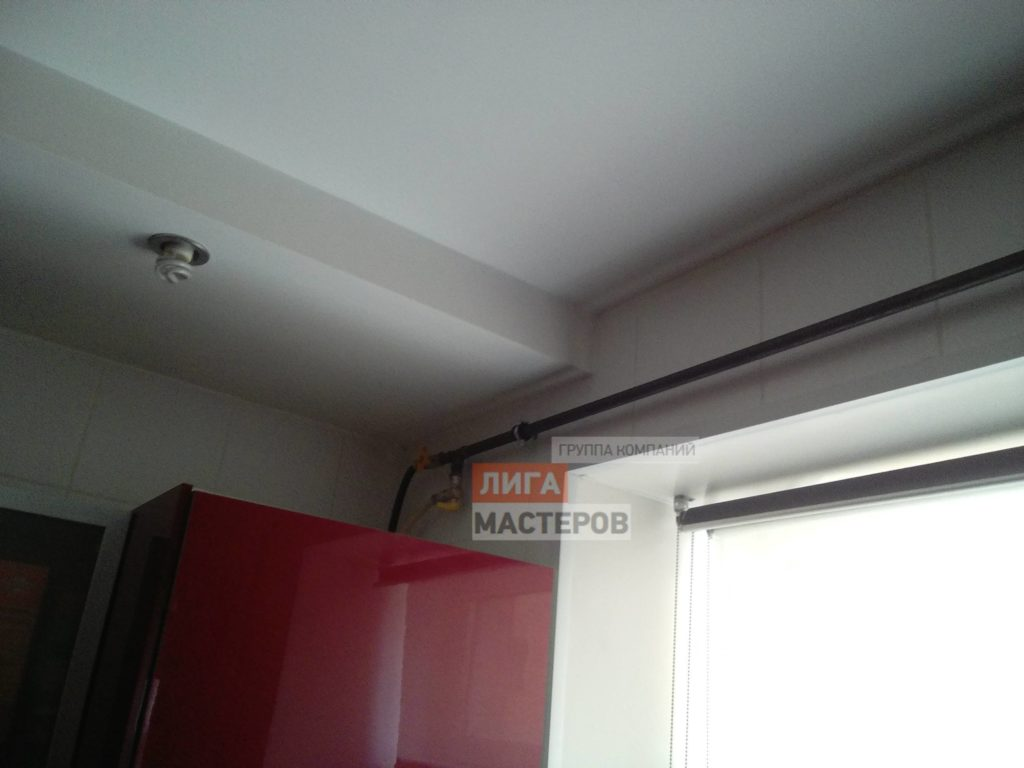 Перенос газовой трубы на кухне