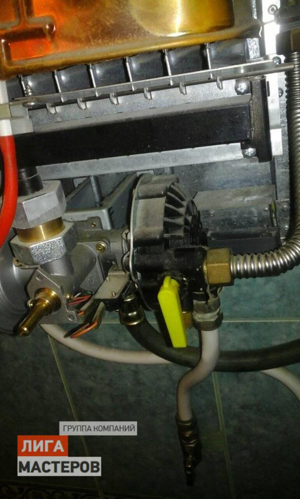 Установка и подключение газовой колонки к газовому баллону