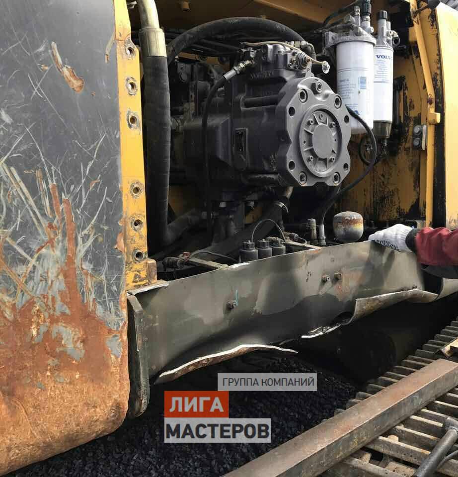 Сварочный ремонт грузовиков и спецтехники
