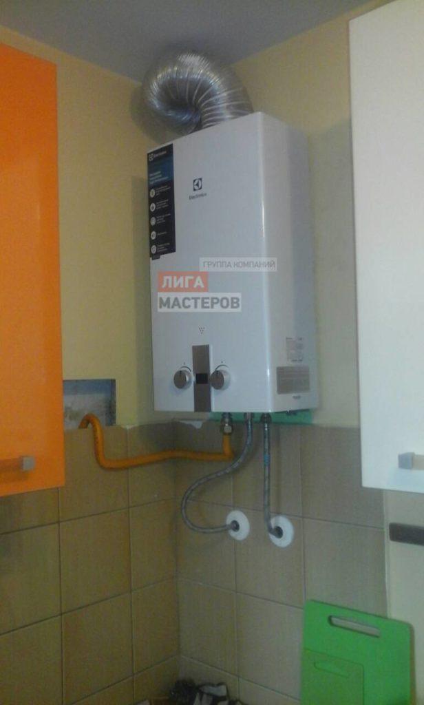 Замена газовой колонки