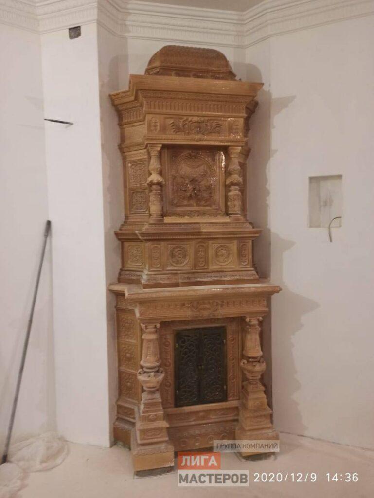 Дверца для камина
