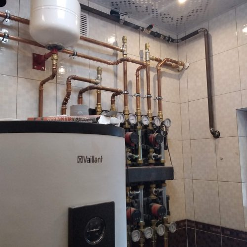 Обвязка системы регулировки отопления загородного дома
