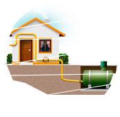 Подключение газовых каминов